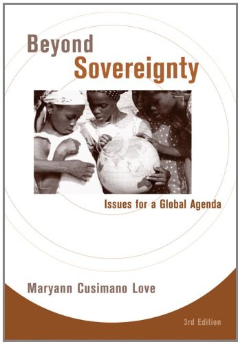 9780495090267: Beyond Sovereignty: Issues for a Global Agenda: Issues for a Glocal Agenda