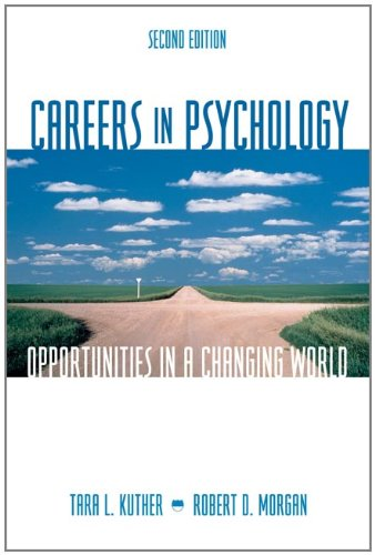 9780495090786: Careers in Psychology: Opportunities in a Changing World