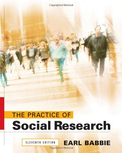 The Practice of Social Research (Available Titles: Earl R. Babbie