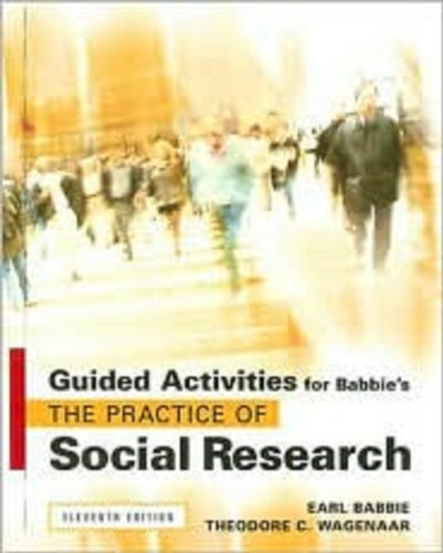 9780495093329: Guided Activities for Babbie's The Practice of Social Research, 11th
