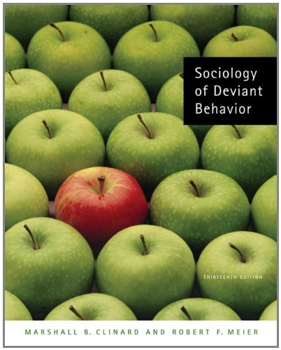 9780495093350: SOCIOLOGY OF DEVIENT BEHAVIOR