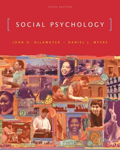 9780495093367: Social Psychology