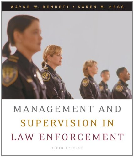 9780495093411: Management and Supervision in Law Enforcement