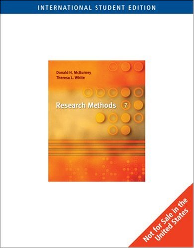 9780495093633: Research Methods