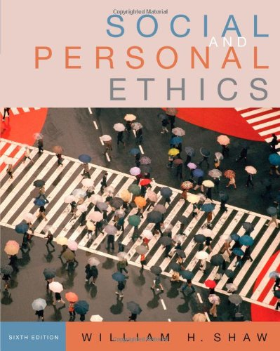 9780495095002: Social and Personal Ethics