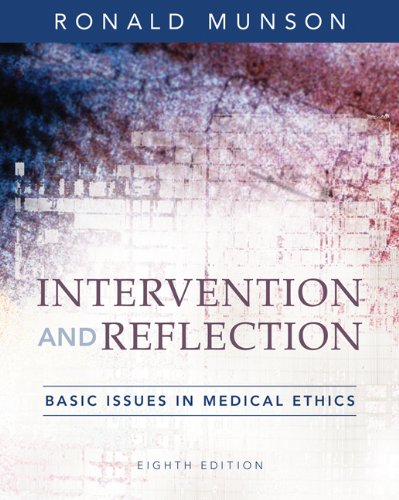 Intervention and Reflection: Basic Issues in Medical: Munson, Ronald