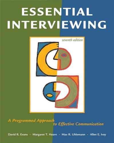 9780495095118: Essential Interviewing: A Programmed Approach to Effective Communication
