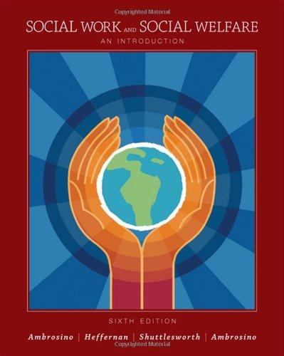 9780495095125: Social Work and Social Welfare: An Introduction
