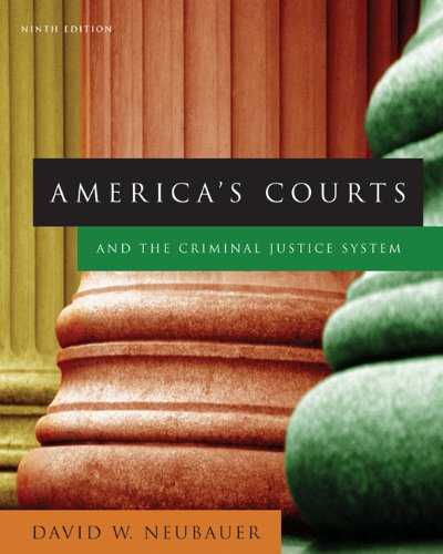 9780495095408: America's Courts and the Criminal Justice System