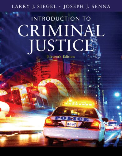 9780495095415: Introduction to Criminal Justice (Available Titles CengageNOW)