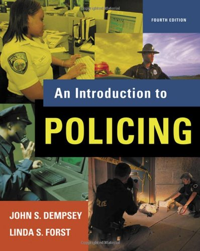 9780495095453: An Introduction to Policing