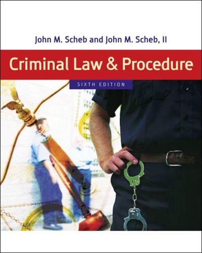 9780495095484: Criminal Law and Procedure