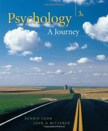 9780495095538: Psychology: A Journey [With Practice Exams W/Visual Guides]