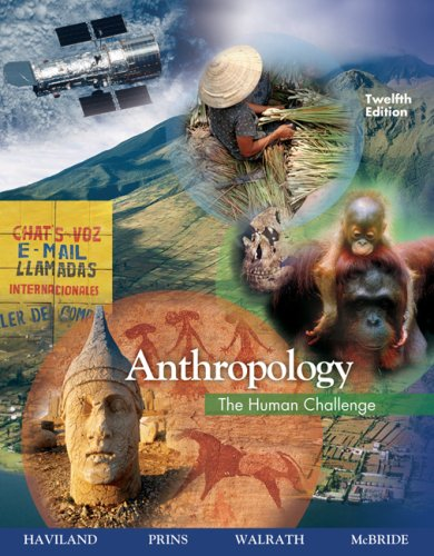 9780495095590: Anthropology: The Human Challenge