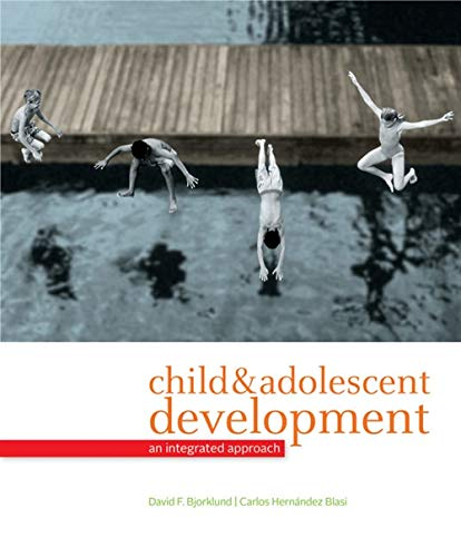 9780495095637: Child and Adolescent Development: An Integrated Approach