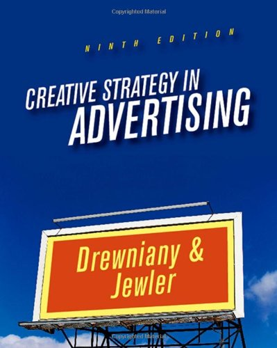 9780495095699: Creative Strategy in Advertising