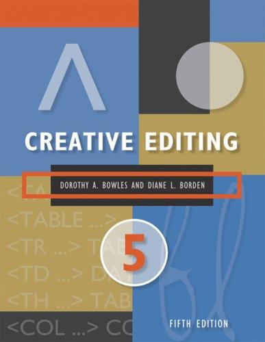 9780495095712: Creative Editing