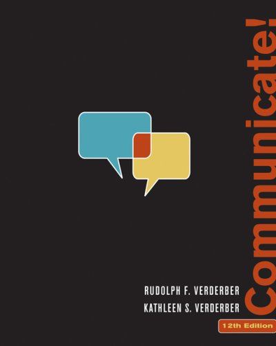 9780495095835: Communicate! (Available Titles CengageNOW)