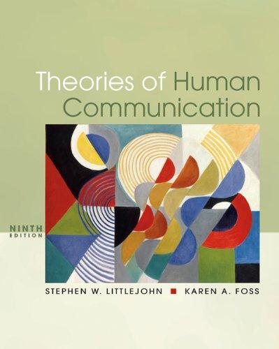 9780495095873: Theories of Human Communication