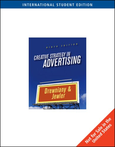 9780495096207: Creative Strategy in Advertising