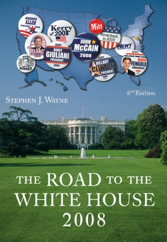 9780495096320: The Road to the White House 2008