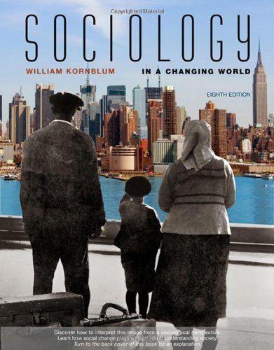 9780495096351: Sociology in a Changing World