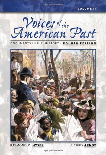 9780495096757: Voices of the American Past: Documents in U.S. History, Volume II