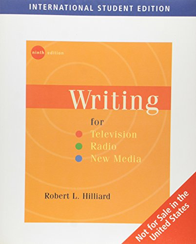 9780495097518: Writing for Television, Radio, and New Media (ISE)