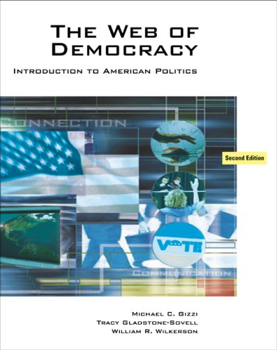 9780495097686: The Web of Democracy: An Introduction to American Politics