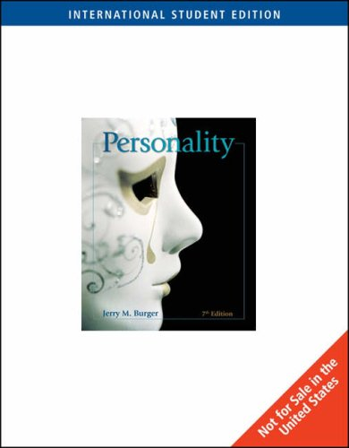 9780495097914: Intl Stdt Edition-Personality
