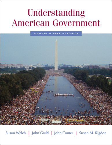 9780495098720: Understanding American Government, Alternate Edition