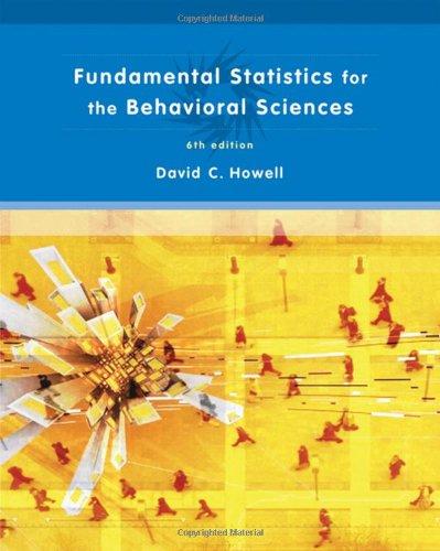 9780495099000: Fundamental Statistics for the Behavioral Sciences