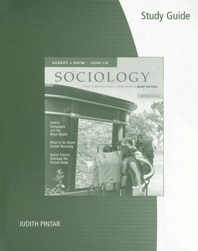 9780495099147: Study Guide for Brym/Lie's Sociology: Your Compass for a New World, The Brief Edition, 2nd