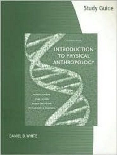 9780495099895: Study Guide for Introduction to Physical Anthropology, 11th Edition