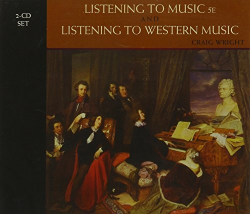 2-CD Set for Wright's Listening to Music,: Craig Wright