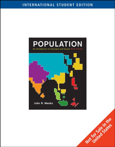 Population: An Introduction to Concepts and Issues: Weeks J