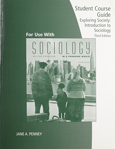 Exploring Sociology in a Changing World: Jane A. Penney
