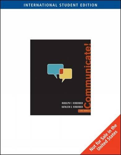 9780495101796: Communicate!