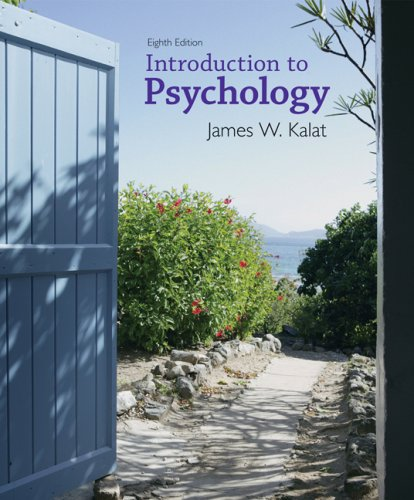 Introduction to Psychology: Kalat, James W.