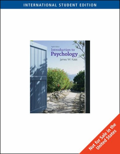 9780495102922: Introduction to Psychology