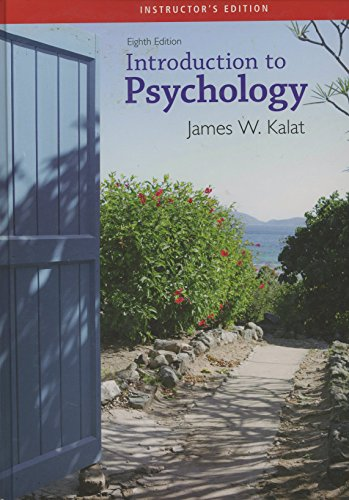 9780495102960: Introduction to Psychology (Introduction to Psychology)