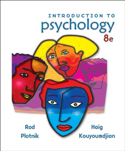 Introduction to Psychology: Plotnik, Rod; Kouyoumdjian,
