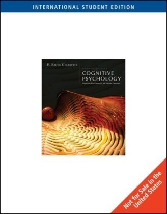 9780495103530: Cognitive Psychology: Connecting Mind, Research and Everyday Experience