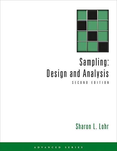 9780495105275: Sampling: Design and Analysis (Advanced Series)