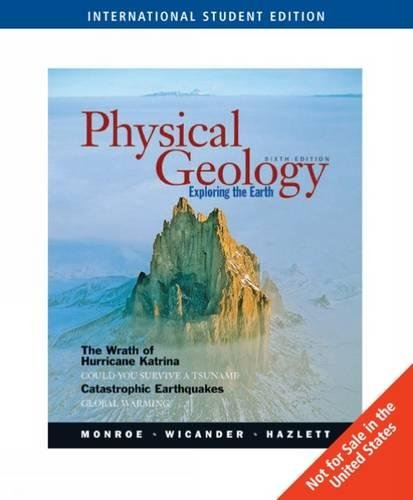 9780495105831: Physical Geology: Exploring the Earth, International Edition