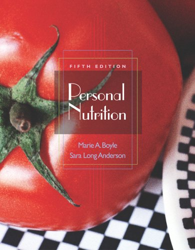 9780495106159: Personal Nutrition (with CD-ROM, InfoTrac, and Dietary Guidelines for Americans 2005)