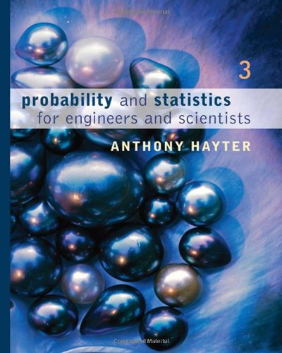 9780495107576: Probability and Statistics for Engineers and Scientists (with CD-ROM)
