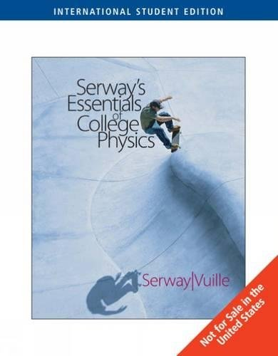 9780495107910: Essentials of College Physics, International Edition
