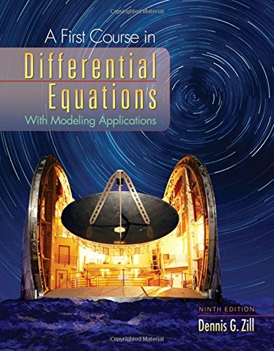 9780495108245: A First Course in Differential Equations