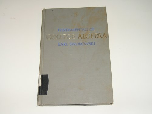 9780495108252: Fundamentals of College Algebra